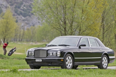 BENTLEY ARNAGE RED LABEL